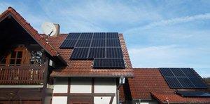 Dachanlage-Strahlungen